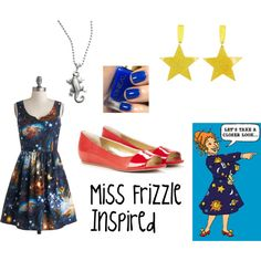 Miss Frizzle Space Dress