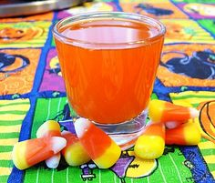 Candy Corn Vodka  Candy Corn Cordials