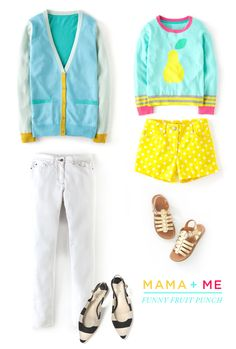 Mama-daughter matchy matchy makes me so happy