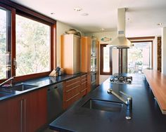 Kitchen Black Granite Design, Pictures, Remodel, Decor and Ideas - page 4