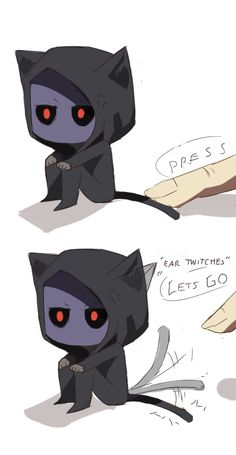 Don't mess with Eyeless Jackitty's tail.