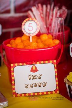 16 Ideas for fire truck birthday party ideas food fireman sam Fireman Party, Firefighter Birthday, Fireman Sam, Firefighter Wedding, Volunteer Firefighter, 4th Birthday Parties, Birthday Fun, Third Birthday, Birthday Ideas