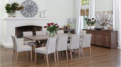 The Rift Bowral Dining Room - Harvey Norman Location Photoshoot
