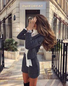 Best Outfits Part 25 Estilo Fashion, Love Fashion, Ideias Fashion, Girl Fashion, Fashion Outfits, Spring Fashion, Luxury Fashion, Classy Outfits, Stylish Outfits