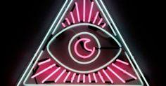 Liked on Pinterest: Through My Eyes neon