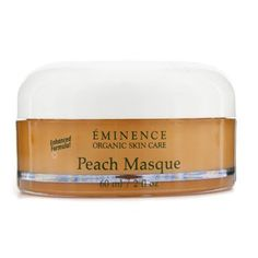 Peach Masque 60ml/2oz by Eminence Organic Skin Care. $49.39. This beauty product is 100% original.. A nourishing & brightening mask Contains Peach high in Vitamin C Beta Carotene & Calcium to enrich & revitalize skin Blended with Honey for hydrating & soothing benefits Plus antioxidants vitamins Coenzyme Q10 & Alpha Lipoic Acid to combat free radicals Helps minimize the appearance of wrinkles & correct the appearance of skin Skin appears softer smoother & refreshed in a ...