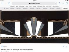 Art Deco Bathroom, Art Deco Fashion, Wall Tiles, Cinema, Prints, Room Tiles, Movie Theater, Movies, Cinematography