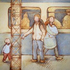 Freya Blackwood Illustration