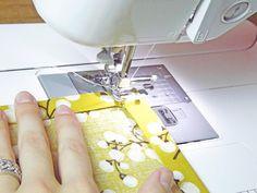 How To: Sew Napkins!!