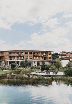 Naturbadeteich des Hotel Molzbachhof ****. #molzbachhof #entspannung #wellness #hotelmolzbachhof