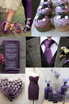 Purple wedding inspiration board by nola.i love the bridesmaid dress but in a different color. Wedding Wishes, Our Wedding, Dream Wedding, Wedding Stuff, Wedding Pins, Private Wedding, Wedding Details, Rooftop Wedding, Wedding Scene