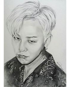 T O P Bigbang Art In 2019 Pinterest Bigbang Cool Pencil