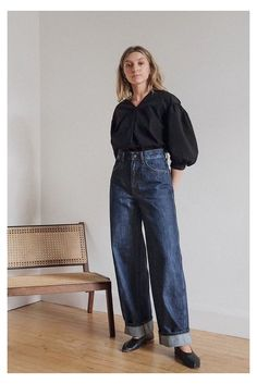 Outfit Jeans, Jeans Outfit Winter, Uniqlo Jeans, Jean Outfits, Fashion Outfits, Jeans Fashion, Fashion Goth, Curvy Fashion, Fall Fashion