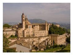 Urbino Marche Italy Urbino is a walled city in the Marche Best Of Italy, Regions Of Italy, Walled City, Google Images, Wander, Mansions, House Styles, Places, Cities