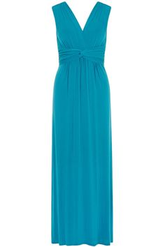 Turquoise knot front maxi dress - View All - Dresses - Dorothy Perkins United States Petite Outfits, Fashion Online, Lace Dress, Awards, Turquoise, Knot, Formal Dresses, My Style, Clothes