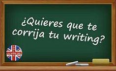 ¿Quieres que te corrija tu writing?