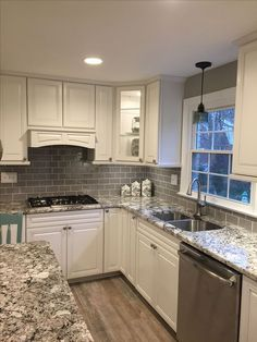 gray subway tile kitchen grohe faucet light backsplash with dark grey floors and 50 classy for or bathroom