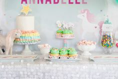 Magical Unicorn Birthday Party | Black Twine