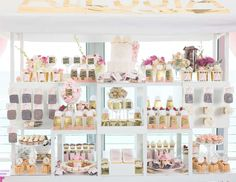 """French Patisserie Baby Shower for Alessia / Baby Shower """"French Patisserie Baby Shower""""   Catch My Party"""