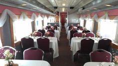 Kansas Belle Dinner Train, Baldwin City, Kansas. Enjoy a 3-hour excursion with your gourmet dinner.