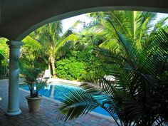 Vero Beach house rental - Heated pool view from the lanai