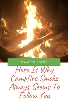 We all love campfires but many people don't like campfire smoke. Yet it can appear that the smoke always follow you when you move. Learn why this happens. Diy Camping, Tent Camping, Camping Gear, Camping Hacks, Outdoor Camping, Wind Speed And Direction, Camping Products, Campfires, Camping Supplies