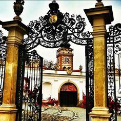 Entering the castle gates •••Mikulov, Czech Republic•••