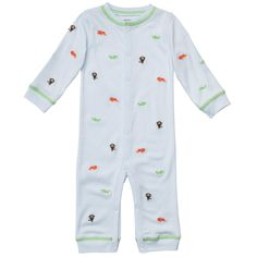 Cotton Snap-Up Coverall | Baby Boy One Pieces