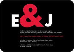 Adorable Ampersand - Signature White Wedding Invitations with Square Corners Green Wedding Invitations, Personalised Wedding Invitations, Wedding Invitation Design, Invites, Wedding Stationery, Business Invitation, Wedding Paper Divas, May Weddings, Wedding Ideas