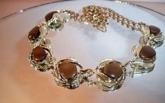 Vintage Mocha Moonglow Lucite Thermoset Plastic $9.99 NR  Free US  Shipping