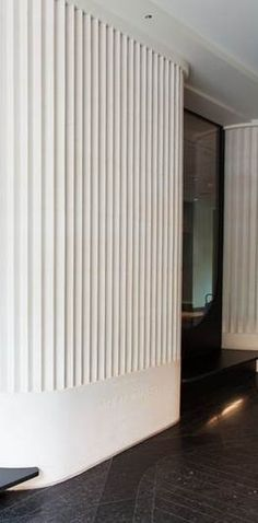 Ideas For Wall Paneling Ideas Covering Interior Walls, Interior And Exterior, Interior Design, Curved Walls, Textured Walls, Inspiration Wall, Interior Inspiration, Nogent Sur Marne, Flur Design