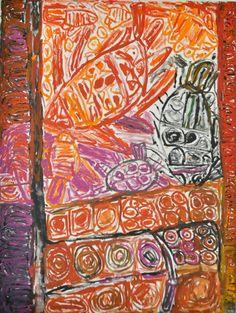 Sonia Kurarra, Martuwarra, 20!4, acrylic paint on canvas, 90 x 120cm. Mangkaja Arts, Aboriginal and Pacific Arts, Sydney. Indigenous Australian Art, Aboriginal Artwork, Arts Award, Acrylic Painting Canvas, Sydney, Art Ideas, Paintings, Modern, Artist