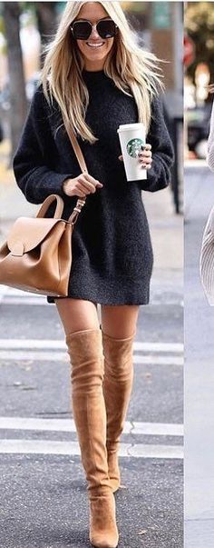 idées inspiration tenues automne-hiver Be Badass II Mode & Lifestyle - idées inspiration tenues automne-hiver Be Badass II Mode & Lifestyle - Cute Summer Outfits, Fall Winter Outfits, Autumn Winter Fashion, Spring Outfits, Dress Winter, Winter Chic, Casual Winter, Winter Wear, Spring Outfit For Work