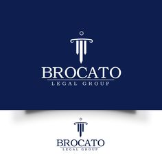 Brocato Legal Group - Legal Firm needs a powerful new logo I'm a lawyer. Most of my clients are The types of cases that I deal with are: personal injury, estate planni. Logo Branding, Branding Design, Logos, How To Make Logo, Custom Logo Design, Logo Design Inspiration, Art Logo, Logo Design Contest, Creative Art