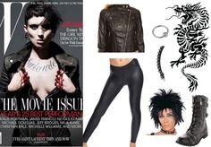 The Girl with the Dragon Tattoo Halloween Costumes - http://www.theultimatepartystore.com/blog/costumes-2/the-girl-with-the-dragon-tattoo-halloween-costumes/