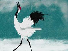 Japanese Crane | Kate Osborne