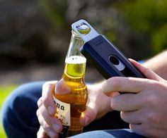 The 40 best, useful and crazy iPhone cases on the market - Beer opener case! Repinned by sproutinc.com.au #sprout #sproutaus #freedomtogrow