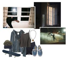 """""""Let's Escape This Quiet Town Together"""" by fantasy-lover-0719 ❤ liked on Polyvore featuring OneTeaspoon, Vans and Topshop"""