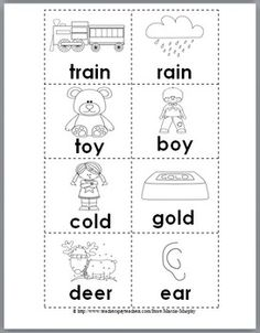 Rhyming Words: 1st Grade Reading Comprehension Skills