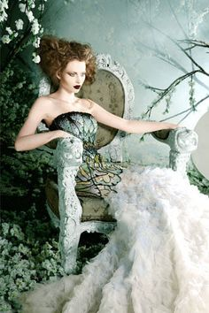 ~ Living a Beautiful Life ~ mademoiselle-vanina: Introducing Michael Cinco Madame Butterfly/Wedding Couture Spring/Summer 2012 Collection. Michael Cinco, Beauty And Fashion, Fashion Art, Editorial Fashion, Baroque Fashion, Fashion Fotografie, Fairytale Fashion, Butterfly Wedding, Beautiful Dresses