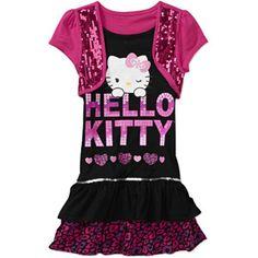 Hello Kitty - Girls' Short Sleeve Sequin Dress  http://www.walmart.com/ip/Hello-Kitty-Girls-Short-Sleeve-Sequin-Dress/21602009  http://www.empowernetwork.com/almostasecret.php?id=lakeyj