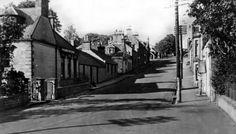 Old photograph of Auchenblae, Scotland