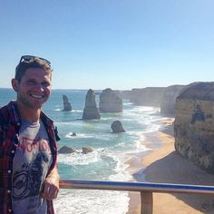 """Made it out of Melbourne city limits this weekend to tour some of the """"Great Ocean Road."""" #12apostles #greatoceanroad #australia #longwander by camocobe"""