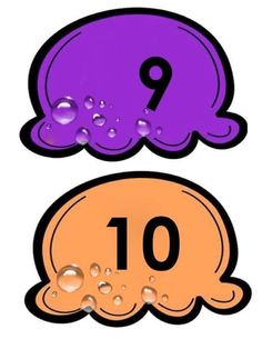 9 And 10, Curriculum, Numbers, Language, Clip Art, Education, Spanish Alphabet, Teaching Aids, Thoughts