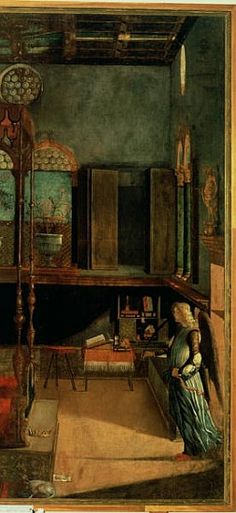 Afbeelding Vittore Carpaccio - Dream of St.Ursula, 1495 (detail of 686)