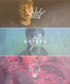 The Golden Trio... words will never describe what they did for me.