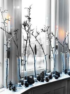 Woodland Winter Decorations.