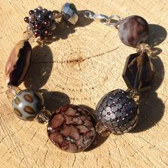The bracelet is hand-built from the Spanish and от Spillikinsbijou