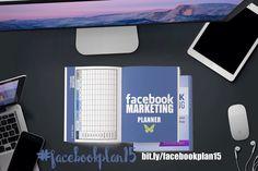 Facebook Marketing Workbook and Planner #facebook #socialmedia #facebookplan15 #planner
