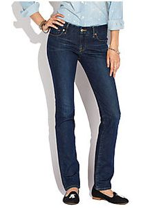These are the absolute BEST jeans ever. They are slimming and oh so comfortable.